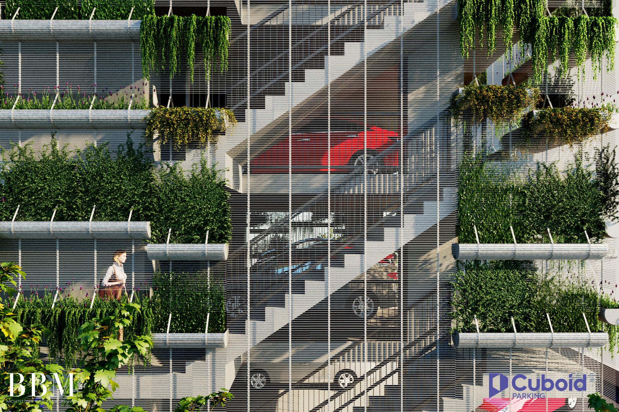 Cuboid Parking - Cuboid Treppenhaus